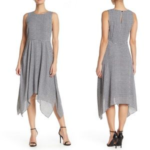 Philosophy Gingham Check High/Low Dress | Size 8